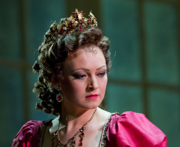Alisa Zinovjeva - G.Puccini - Tosca (foto di F. Parenzan)