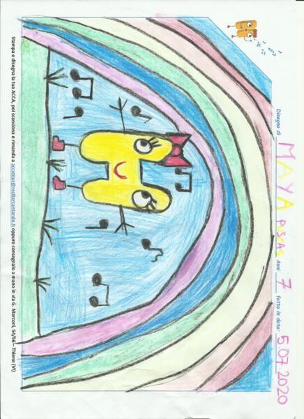 Maya Puscas 7 anni