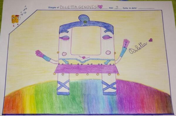 Diletta Genovese 9 anni